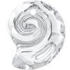 Swarovski 6731 Sea Snail Pendant (Partly Frosted) Crystal 14mm