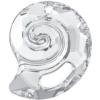 Swarovski 6731 Sea Snail Pendant (Partly Frosted) Crystal 28mm