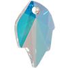 Swarovski 6735 Leaf Pendant Crystal AB 26x16mm