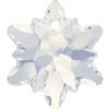 Swarovski 6748 Edelweiss Pendant White Opal 14mm