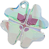 Swarovski 6764 Clover Pendant Crystal Paradise Shine 19mm