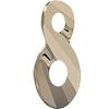 Swarovski 6792 Infinity Pendant Crystal Metallic Light Gold 2X 18mm