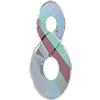 Swarovski 6792 Infinity Pendant Crystal Paradise Shine 18mm