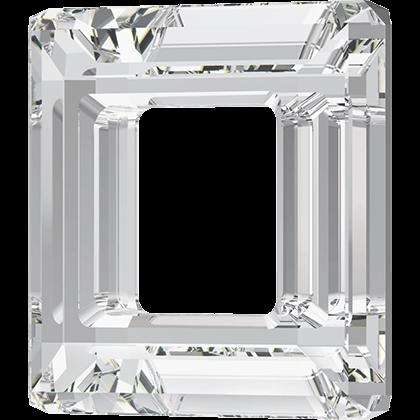 """Swarovski 4439 Square Ring Fancy Stone Crystal CAL """"V"""" SI 14mm"""