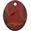 Swarovski 6911 Kaputt Oval Pendant Crystal Red Magma 26mm
