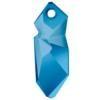 Swarovski 6913 Kaputt Pendant Crystal Metallic Blue 28mm