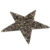 Swarovski 72002 Crystal Rocks Washable Star 76 x 80 mm Crystal Metallic Light Gold