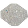 Swarovski 72012 Crystal Rocks Washable Octagon 22 mm Crystal AB