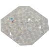 Swarovski 72012 Crystal Rocks Washable Octagon 22 mm Crystal AB
