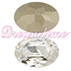 Swarovski 4120 Oval Fancy Stone Crystal 6x4mm