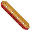 Swarovski 77725 Rondelle Spacer Bars 4 Hole Ruby/Gold