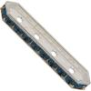 Swarovski 77725 Rondelle Spacer Bars 4 Hole Montana/Silver