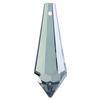 Swarovski 8621 Teardrop Crystal Pendants 38x14mm Crystal Mystique
