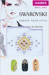 Swarovski Nail Art Crystal Transfers - Classic Set 1