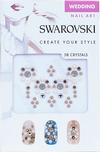 Swarovski Nail Art Crystal Transfers - Wedding Set 2