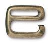 "TIERRACAST® Brass Oxide 1/2"" E Hook Clasp"