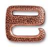 TIERRACAST® Antique Copper Distressed E Hook Clasp