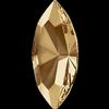 Swarovski 4228 Navette Fancy Stone Crystal Golden Shadow 15x7mm