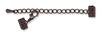 Extension Clasp with Lobster for Artistic Wire® Mesh 10mm Hematite-2 Pc Set