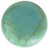 Round Flat Back Acrylic Turquoise Cabochons 12MM