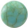 Round Flat Back Acrylic Turquoise Cabochons 14MM