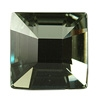 Swarovski 2483 Classic Square Flat Back Black Diamond 25mm