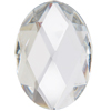 Acrylic (Lucite, Plexiglass) Oval Rhinestones 18mm x 13mm Crystal