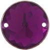 Sew on Acrylic Rhinestones 11mm Amethyst