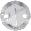 Sew on Acrylic Rhinestones 11mm Crystal