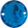 Sew on Acrylic Rhinestones 11mm Dark Aqua