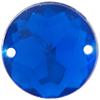 Sew on Acrylic Rhinestones 15mm Light Sapphire
