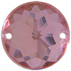 Sew on Acrylic Rhinestones 15mm Rose