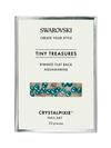 Swarovski Crystalpixie Tiny Treasures Rimmed Flat Back Aquamarine