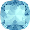 Swarovski 4470 Cushion Cut Square Fancy Stone Aquamarine 8mm