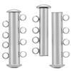 4 Strand Magnetic Clasp Rhodium