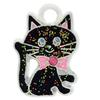 Enameled Cat Charm