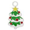 Enameled Christmas Tree Charm