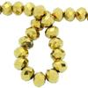 Spark Briolette Beads Aurum 8mm