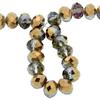 Spark Briolette Beads Bronze Shade 8mm
