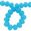 Spark Briolette Beads Caribbean Blue Opal 8mm