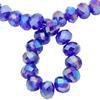 Spark Briolette Beads Cobalt AB 8mm