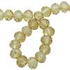Spark Briolette Beads Golden Shadow 8mm