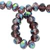 Spark Briolette Beads Light Amethyst AB 8mm