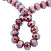 Spark Briolette Beads Light Siam AB 8mm