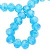 Spark Briolette Beads Light Turquoise AB 8mm