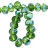 Spark Briolette Beads Olivine AB 8mm
