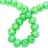 Spark Briolette Beads Peridot AB 8mm