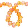 Spark Briolette Beads Sunflower AB 8mm