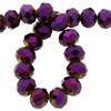 Spark Briolette Beads Volcano 8mm