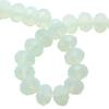 Spark Briolette Beads White Opal 8mm